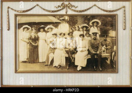 Russian Imperial Family of Nicholas II - Stock Photo