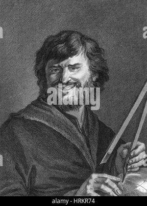 Democritus, Ancient Greek Polymath - Stock Photo