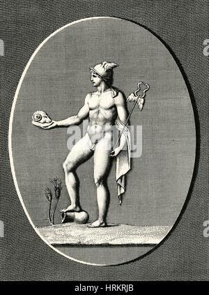 Mercury, Roman God Stock Photo, Royalty Free Image ...