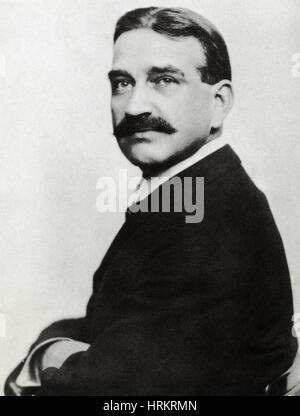 L. Frank Baum, American Author - Stock Photo