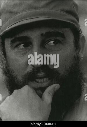 Fidel Castro, Cuban Revolutionary - Stock Photo