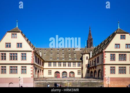 ´La Grande Boucherie´ building 16th century, historical museum, Strasbourg, Alsace, France. - Stock Photo