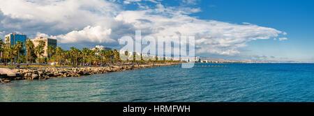 Limassol skyline panorama. Cyprus - Stock Photo