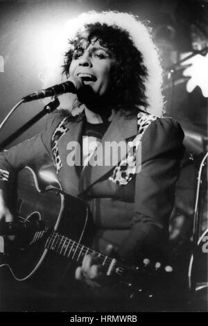 Sep. 16, 1977 - September 16th 1977 Marc Bolan killed in car crash – Rock singer Marc Bolan, 29, was killed - Stock Photo