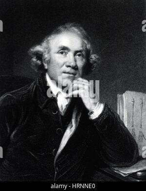 John Hunter, Scottish Surgeon and Anatomist - Stock Photo