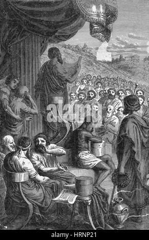 Herodotus, Ancient Greek Historian, Father of History - Stock Photo