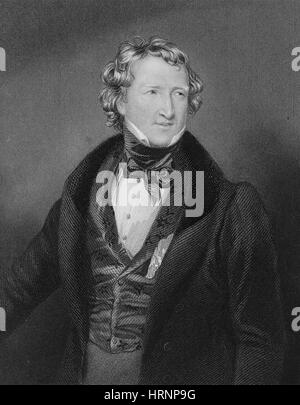 Thomas Wakley, English Coroner and Political Reformer - Stock Photo