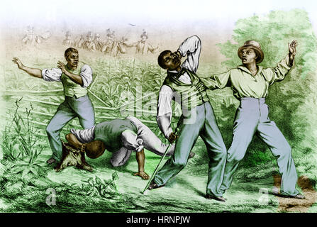 Fugitive Slave Law - Stock Photo
