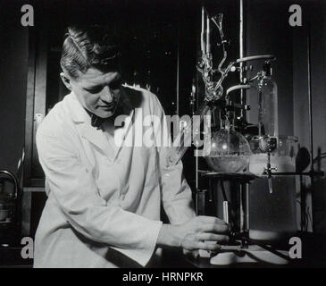 Christian Anfinsen, American Biochemist - Stock Photo