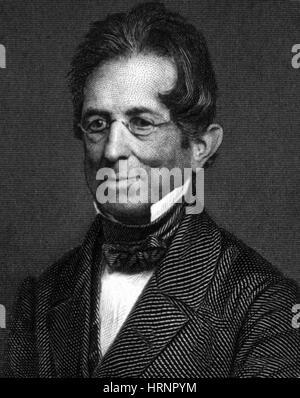 Thomas Hopkins Gallaudet, American Educator - Stock Photo