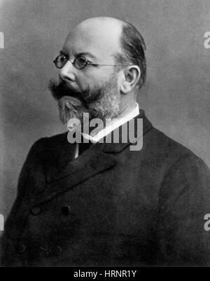 Friedrich Loeffler, German Bacteriologist - Stock Photo