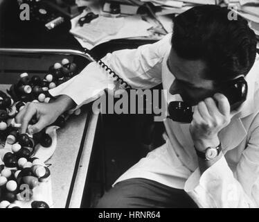 Marshall Warren Nirenberg, American Geneticist - Stock Photo