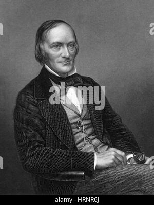 Richard Owen, English Paleontologist - Stock Photo