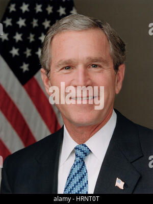 George W. Bush, 43rd U.S. President - Stock Photo