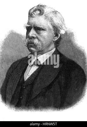 David Edward Hughes, Welsh-American Inventor - Stock Photo