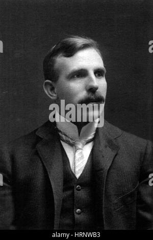 Ernest Rutherford, New Zealand Physicist - Stock Photo