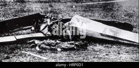 Quentin Roosevelt, WWI American Pilot - Stock Photo