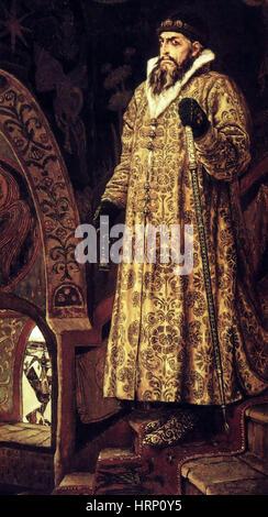 Ivan the Terrible, Czar of Russia - Stock Photo