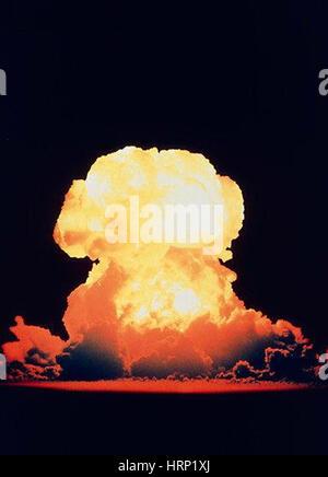 Operation Redwing, Atomic Bomb Test, 1956 - Stock Photo