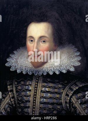 William Shakespeare, English Playwright - Stock Photo