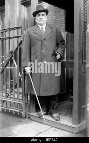 Enrico Caruso, Italian Opera Singer - Stock Photo