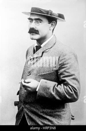 Rudyard Kipling, English Author - Stock Photo