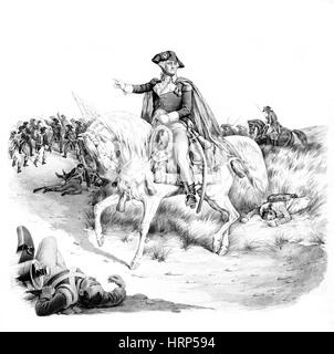 Battle of Monmouth, 1778 - Stock Photo