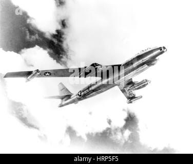 Boeing B-47 Stratojet, Wing-Swept Bomber, 1950 - Stock Photo