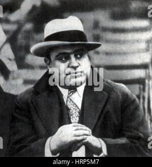 Al Capone, American Mobster - Stock Photo