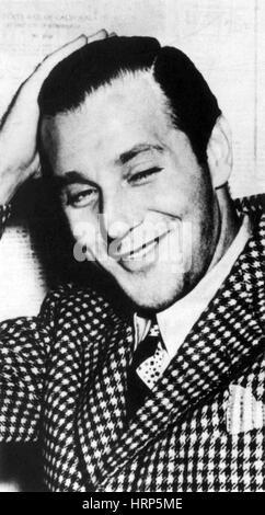 Benjamin 'Bugsy' Siegel, American Mobster - Stock Photo