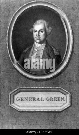 Nathanael Greene, American Military Officer - Stock Photo