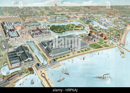 Columbian Exposition, 1893 - Stock Photo