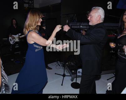 Lambertz Monday Night 2017 - After Show Party  Featuring: Wolfgang Kubicki, Nastassja Kinski Where: Cologne, Germany - Stock Photo