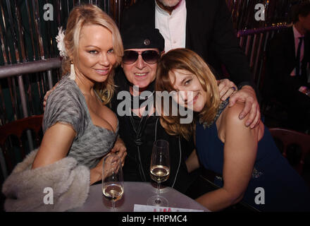 Lambertz Monday Night 2017 - After Show Party  Featuring: PAMELA ANDERSON, KLAUS MEINE, Nastassja Kinski Where: - Stock Photo