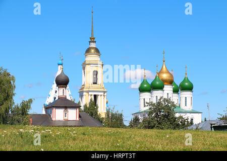 Kremlin in Kolomna, Moscow region, Russia. Popular landmark - Stock Photo