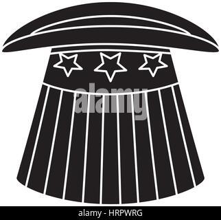 United States patriotic symbol - Stock Photo