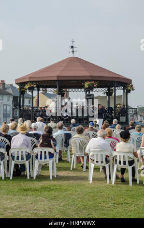The Deal Memorial Bandstand - Stock Photo