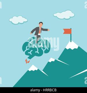 Smart Solution. Concept business illustration - Stock Photo