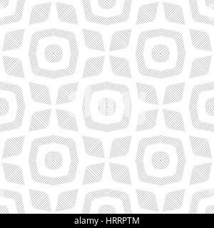 Seamless pattern. Stylish linear texture. Regularly repeating geometrical elements, shapes, lines, rhombuses, linear - Stock Photo