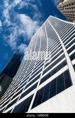 W.R. Grace building, 42nd street, NYC, USA - Stock Photo
