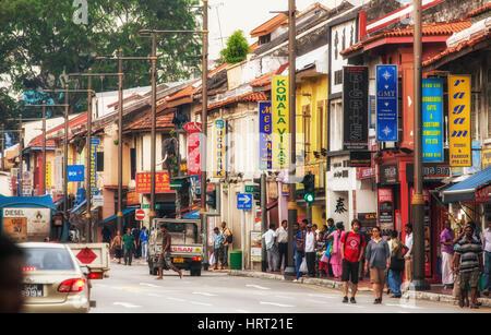 Streets scenes, Serangoon Road, Little India District, Singapore, Asia, Singapore - Stock Photo