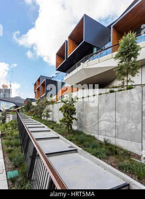 The International Convention Centre, Darling Harbour, Sydney - Stock Photo