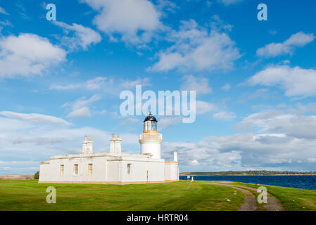 Chanonry Point Lighthouse, Scotland - Stock Photo