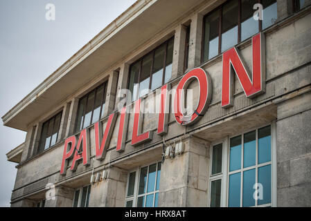 Bournemouth, UK. 20th March 2016. The Pavilion Theatre and Ballroom. Built in the 1920s, it retains its splendour - Stock Photo