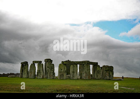 Stonehenge, UK - Stock Photo