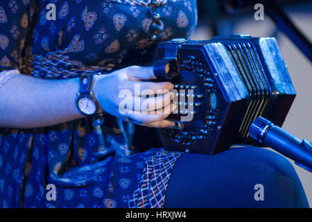 Musical Instruments being [played - Stock Photo