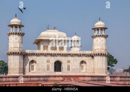 Itmad-Ud-Daulah's Tomb - Agra, India - Stock Photo