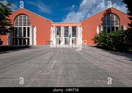 Museum of Roman Ships, Nemi, Lazio, Italy - Stock Photo