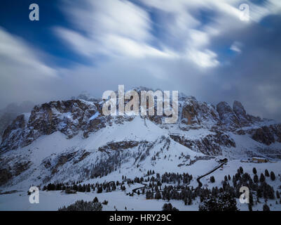 Corvara. Dolomiti. Italia. - Stock Photo