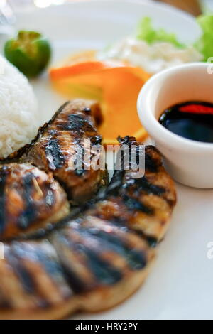how to make fish steak sauce